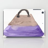 tote bag iPad Cases featuring Tote 2 by ©valourine