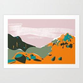 Echo Canyon Trailhead View 1 Art Print