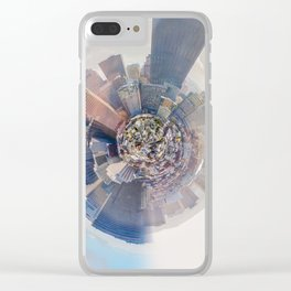 San Francisco city view - tiny planet Clear iPhone Case