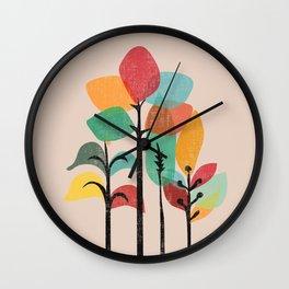 Tropical Groove Wall Clock