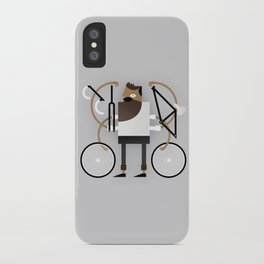 Back to Fixie Business iPhone Case