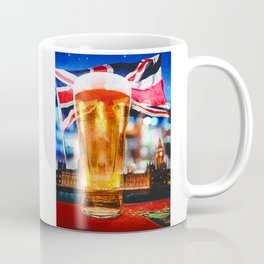 English Beer In A London Pub Coffee Mug
