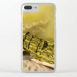 Burnin' Clear iPhone Case