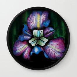 orchid/adrianamateus Wall Clock