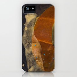 joelarmstrong_rust&gold_017 iPhone Case