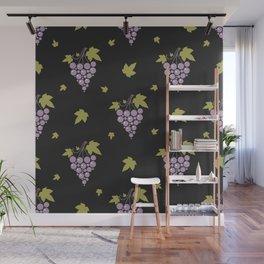 Grapes Wall Mural