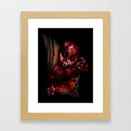 Mutant Chestburster Baby Framed Art Print