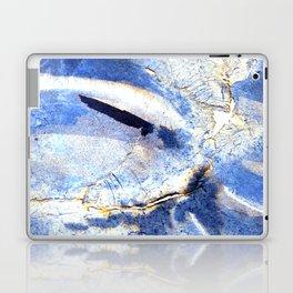 ink top, blue Laptop & iPad Skin