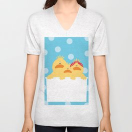 Ducks Unisex V-Neck