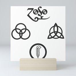 Zeppelin Members Mini Art Print