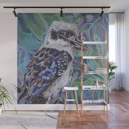 Kookaburra in the bush Wall Mural