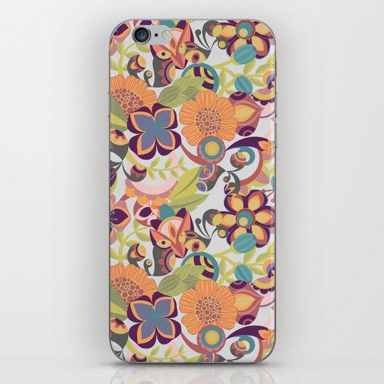 Birds in the fall iPhone & iPod Skin