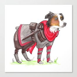 DogDays19 Thor Canvas Print