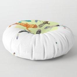 FORMOSA SERIES【Salamanders】 Floor Pillow