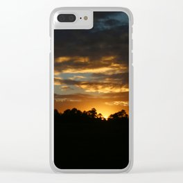 How I Miss Those Southern Sunsets Clear iPhone Case