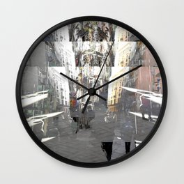 Envision the flight with some sort of imagination. [A] Wall Clock