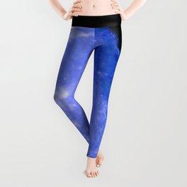 Icy Blue Moon Leggings