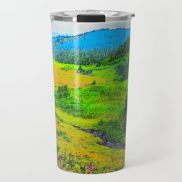 Alaska's Kenai Peninsula - Watercolor Travel Mug