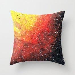 solar storm Throw Pillow