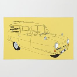 Only Fools and Horses Robin Reliant Rug