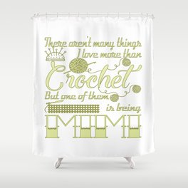Crochet Mimi Shower Curtain