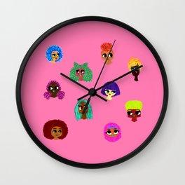 Sweet Doll Bits Wall Clock