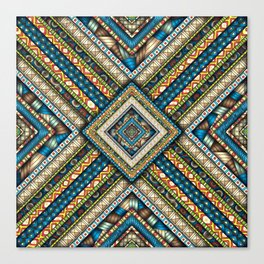 A Difficult Pattern Canvas Print