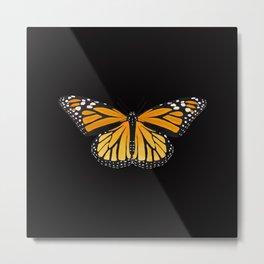 Monarch Butterfly Love Metal Print