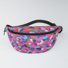 Pink Dreams Abstract Painting Fanny Pack