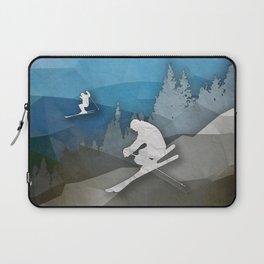 The Skiers Laptop Sleeve
