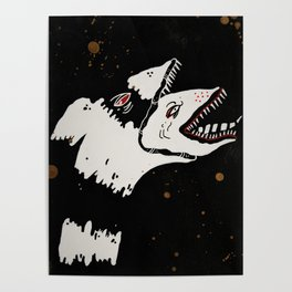 Handdrawn Sandworms Poster