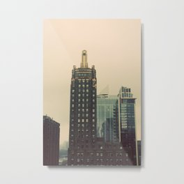 Carbide and Carbon Building Chicago Metal Print