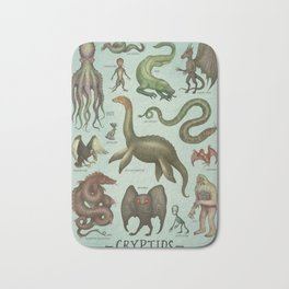 CRYPTIDS Bath Mat