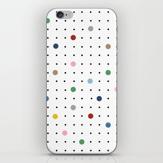 Pin Points iPhone Skin