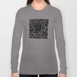 Must Have Coffee : White Long Sleeve T-shirt