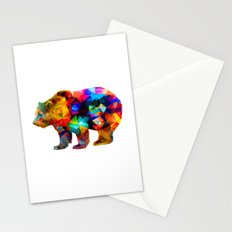 Bear Triangles Stationery Cards