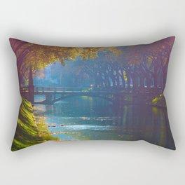 Duesseldorf Koegraben, Koenigsallee im Herbst Rectangular Pillow