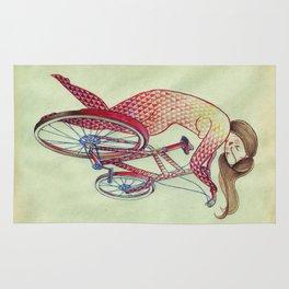 Bicycle hugger Rug