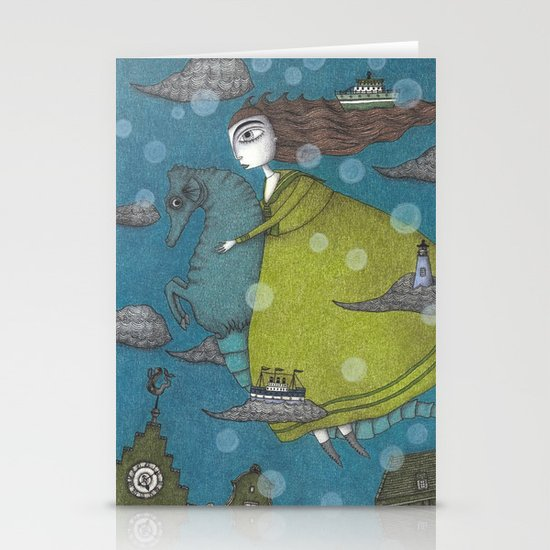 The Sea Voyage Stationery Cards