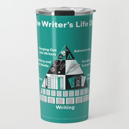 The Writer's Life Diet Travel Mug