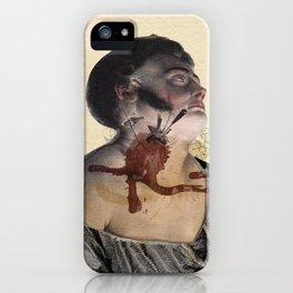 La Mort de Marat iPhone Case