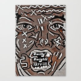The Eyes Of Hip Hop  Canvas Print