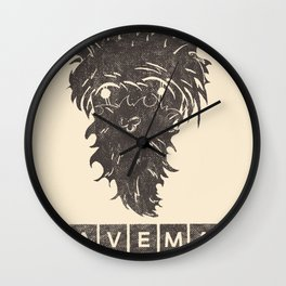 Caveman Wall Clock