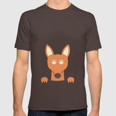 Pocket Kangaroo SMALL Brown Mens Fitted Tee