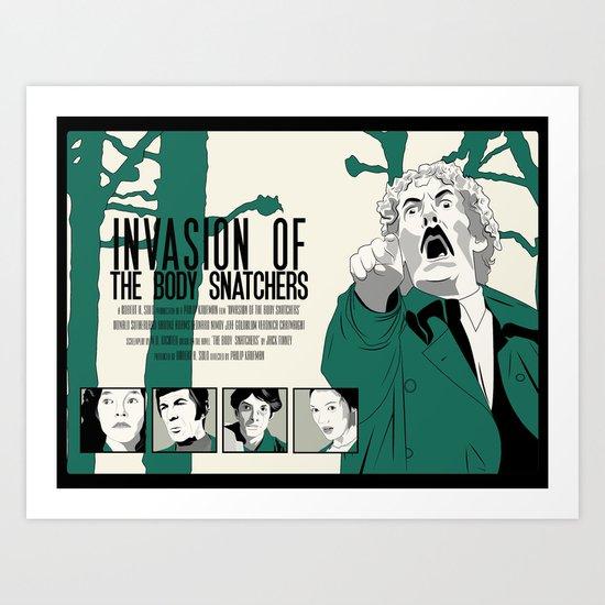 Invasion of The Body Snatchers Art Print