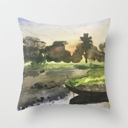 Burma Throw Pillow