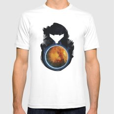 Metroid Prime White Mens Fitted Tee LARGE