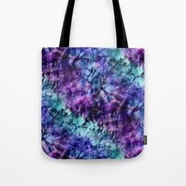 Midnight Tie Dye Tote Bag