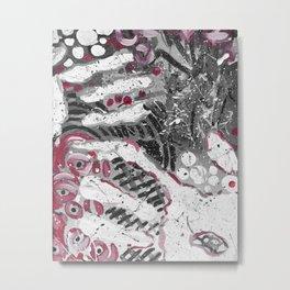 Hand Prints Metal Print