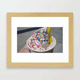 Tasting Summer Framed Art Print